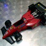 BURAGO Ferrari 126 C4 1:24 diecast model formula 1 g berger car F1 @SOLD@